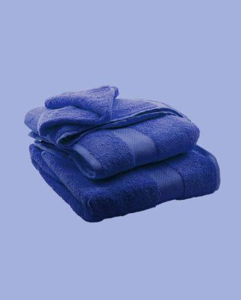 Towel Blue - Egyptian Cotton - My Cotton Dream - Switzerland