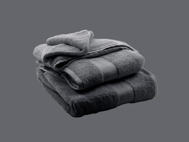 Grey towels - Egyptian Cotton - My Cotton Dream - Switzerland