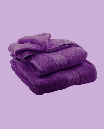 Towel Purple - Egyptian Cotton - My Cotton Dream - Switzerland