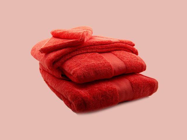 Towel Red - Egyptian Cotton - My Cotton Dream - Switzerland