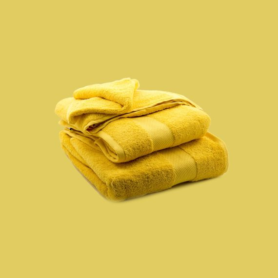 Towel Yellow - Egyptian Cotton - My Cotton Dream - Switzerland