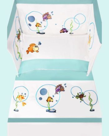 Baby Line - Bonne Nuit - Fish Collection - My Cotton Dream
