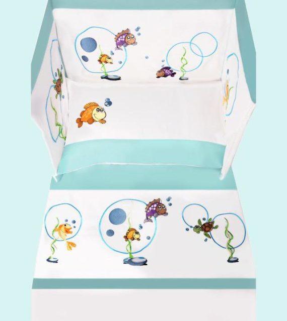 Baby Line - Bonne Nuit - Fish Collection - My Cotton Dream