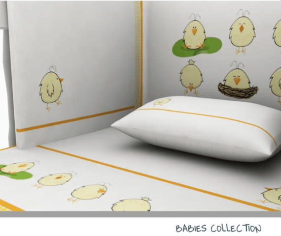 Baby Line -Chicken collection - Photo 2 - Egyptian Cotton - My Cotton Dream