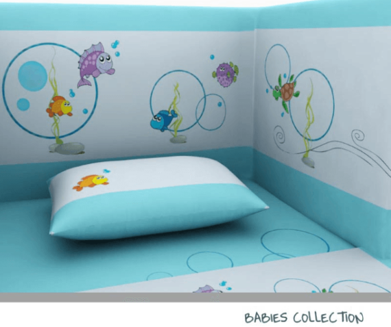 Baby Line - Fish collection - Photo 4 - Egyptian Cotton - My Cotton Dream