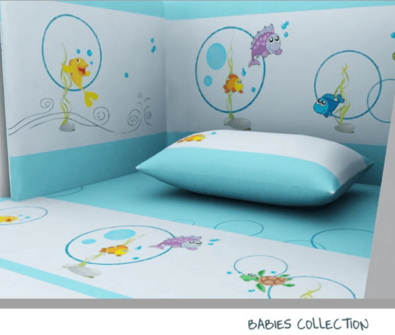 Baby Line - Fish collection - Photo 3 - Egyptian Cotton - My Cotton Dream