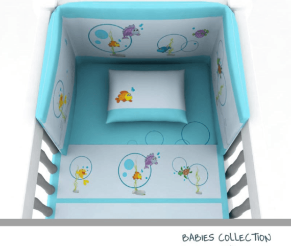 Baby Line - Fish collection - Photo 2 - Egyptian Cotton - My Cotton Dream