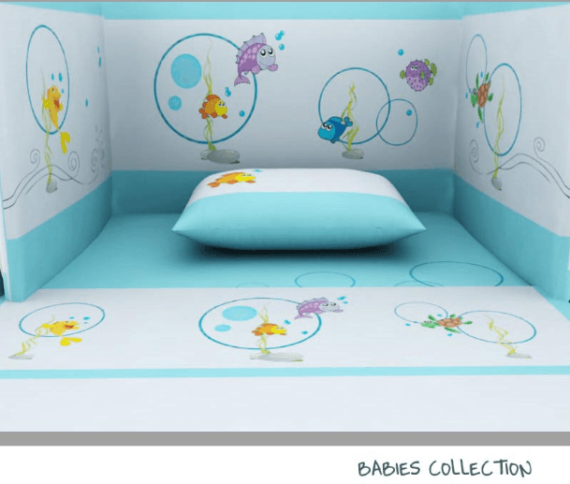Baby Line -Fish collection - Photo 1 - Egyptian Cotton - My Cotton Dream